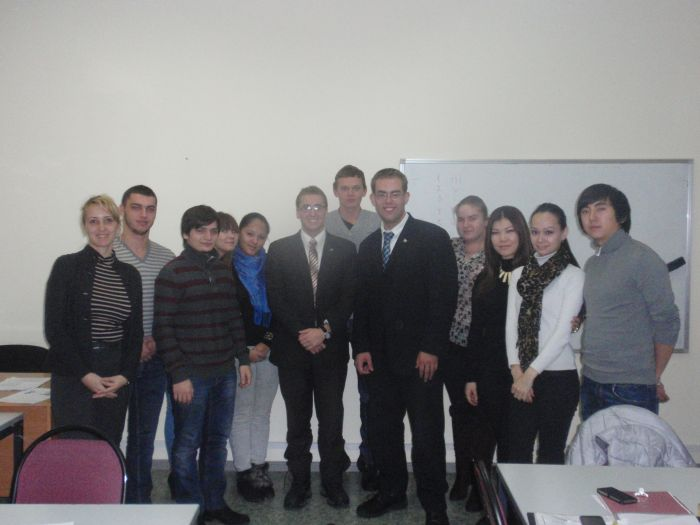 "Foreign employers took part in class on course ""Professional English for Restaurants and Hotel Industry"""